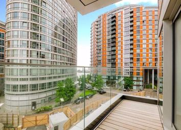 Thumbnail 1 bed flat to rent in Charrington Tower, Fairmont Avenue, Canary Wharf, London