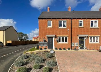 Thumbnail End terrace house for sale in Brawn Drive, Raunds, Wellingborough