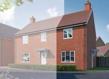 Thumbnail 2 bed semi-detached house for sale in Canalside View, Broughton, Aylesbury