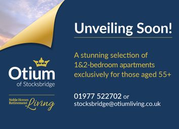 Thumbnail 1 bed property for sale in Park Drive Way, Stocksbridge, Sheffield