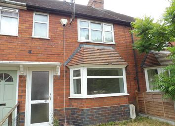 Thumbnail 3 bed terraced house to rent in Ransome Road, Gun Hill, Coventry