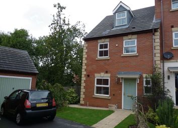 Thumbnail 5 bed town house to rent in Woodyard Close, Castle Gresley, Swadlincote