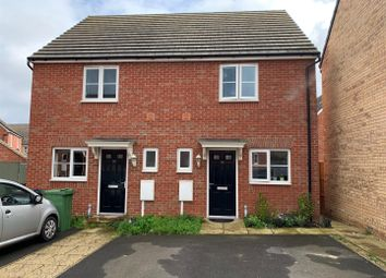 Thumbnail 2 bed semi-detached house for sale in Tilman Drive, Hempsted, Peterborough