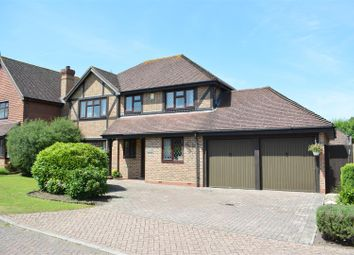 Thumbnail 4 bed detached house for sale in Ripley Way, Epsom