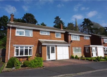Thumbnail 5 bed detached house for sale in Redmoor Close, Burton On Trent