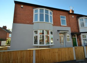 Thumbnail 3 bed end terrace house for sale in Lorne Road, Leicester