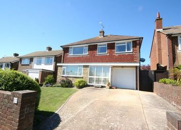 Thumbnail 4 bed detached house for sale in Stuart Avenue, Eastbourne, East Sussex
