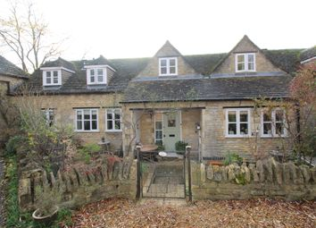 Thumbnail 3 bed cottage for sale in Old Leicester Road, Wansford, Peterborough