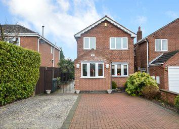 Thumbnail 3 bed detached house for sale in Longue Drive, Calverton, Nottingham