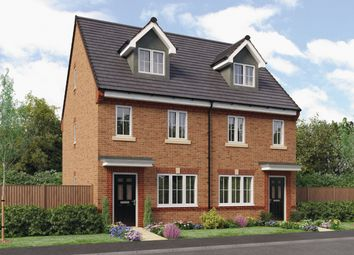 Thumbnail 3 bed town house for sale in The Tolkien, Barley Meadows, Cramlington, Northumberland