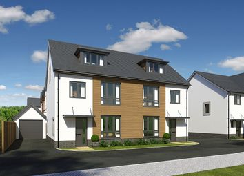 "Thumbnail 4 bed semi-detached house for sale in ""Rhymney"" at Llantrisant Road, Cardiff"