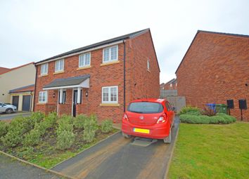 Thumbnail 3 bed semi-detached house for sale in Cayley Court, Hopper Hill Road, Eastfield, Scarborough