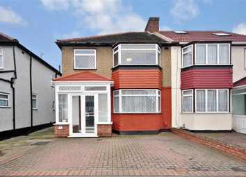 Thumbnail 3 bed semi-detached house for sale in Naseby Road, Clayhall, Ilford, Essex