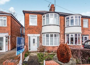 Thumbnail 3 bed semi-detached house for sale in Bessingby Road, Bridlington