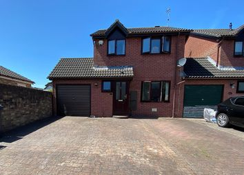 Thumbnail 3 bed link-detached house for sale in Fen Violet Close, St. Mellons, Cardiff.