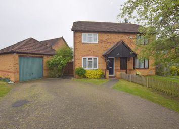 Thumbnail 3 bed semi-detached house for sale in Calverleigh Crescent, Furzton, Milton Keynes