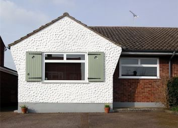 Thumbnail 2 bedroom semi-detached bungalow for sale in Churchill Close, Ongar, Essex