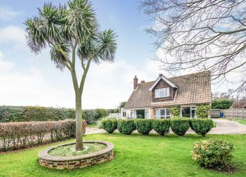 Thumbnail 4 bed detached house for sale in North Walsham Road, Bacton, Norwich