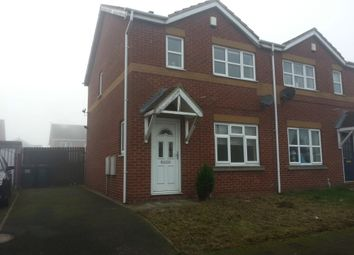 Thumbnail 3 bed semi-detached house to rent in Storrs Wood View, Cudworth, Rotherham