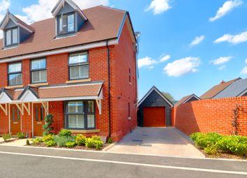 Thumbnail 4 bed semi-detached house for sale in Ramsfield, Wye, Ashford