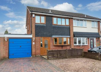 Thumbnail 3 bed semi-detached house for sale in Gainsbrook Crescent, Norton Canes, Cannock