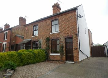 Thumbnail 2 bed semi-detached house to rent in Croft Road, Cosby, Leicester