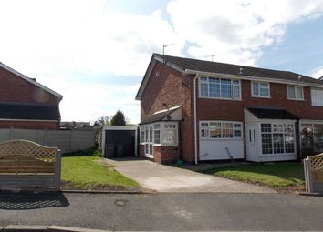 Thumbnail 3 bed semi-detached house for sale in Mears Drive, Stechford, Birmingham