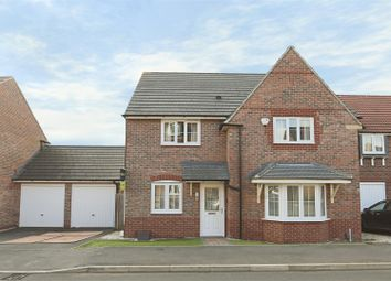 Thumbnail 4 bed detached house for sale in Roxburgh Close, Arnold, Nottinghamshire