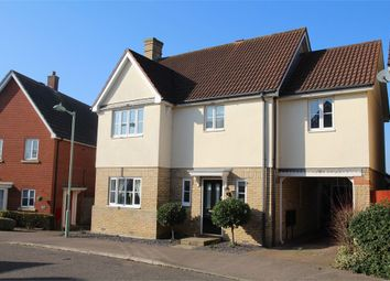 Thumbnail 4 bedroom detached house for sale in Lark Close, Stowmarket