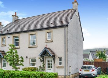 Thumbnail 3 bed semi-detached house for sale in Noddleburn Meadow, Largs