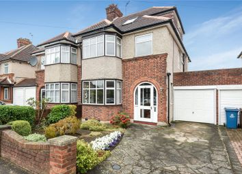 Thumbnail 4 bedroom semi-detached house for sale in Manor Park Drive, Harrow, Middlesex