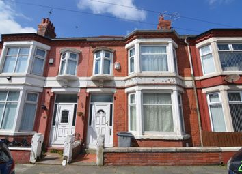 Thumbnail 3 bed terraced house to rent in Karslake Road, Wallasey