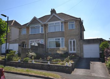 Thumbnail 3 bedroom semi-detached house for sale in Rowacres, Bath, Somerset
