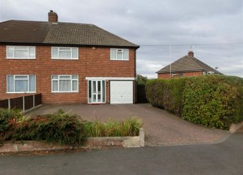 Thumbnail 4 bed semi-detached house for sale in Dyas Road, Hollywood, Birmingham