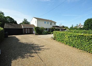 Thumbnail 4 bed detached house for sale in Long Green, Wortham, Diss