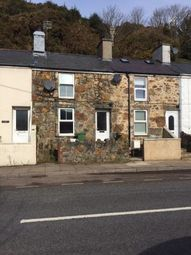 Thumbnail 1 bed terraced house for sale in Abererch Road, Pwllheli, Gwynedd