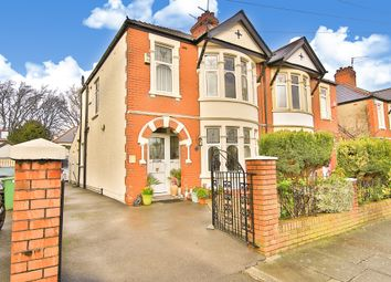 Thumbnail 3 bedroom semi-detached house for sale in St Albans Avenue, Heath, Cardiff
