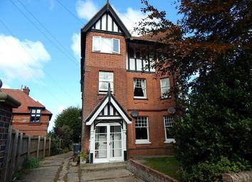 Thumbnail 3 bedroom flat for sale in Flat 2, 24 Hooks Hill Road, Sheringham, Norfolk