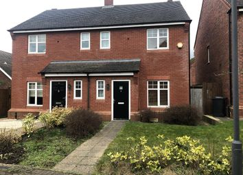 Thumbnail 3 bed semi-detached house to rent in Agincourt Road, Lichfield