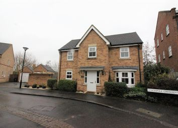 Thumbnail 4 bed detached house for sale in Stackpole Crescent, Blunsdon, Swindon