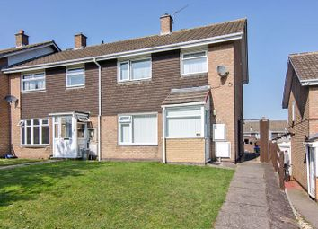 Thumbnail 3 bed semi-detached house for sale in Foxglove Walk, Brindley Heath, Hednesford