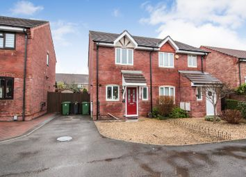 Thumbnail 2 bed semi-detached house for sale in Harrison Drive, St Mellons