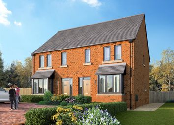 Thumbnail 3 bed semi-detached house for sale in Station Road, Delamere, Northwich