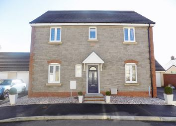 Thumbnail 4 bed detached house for sale in Ffordd Y Draen, Coity, Bridgend.