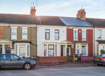Thumbnail 3 bed terraced house for sale in St Leonards Road, Far Cotton, Northampton