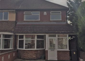 Thumbnail 3 bedroom semi-detached house to rent in Averil Road, Leicester, Leicestershire