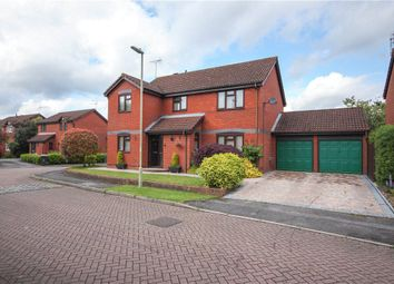 Thumbnail 4 bedroom detached house for sale in Hereford Mead, Fleet