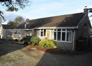 Thumbnail 4 bed detached bungalow for sale in Station Road, Wanstrow, Shepton Mallet