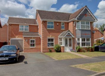 Thumbnail 6 bed detached house for sale in Penkside, Coven, Wolverhampton