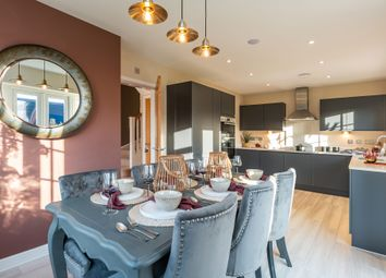 "Thumbnail 4 bed detached house for sale in ""The Brooke"" at North End Road, Yatton, Bristol"